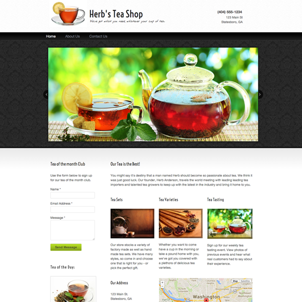 sample websites free website templates themes webs