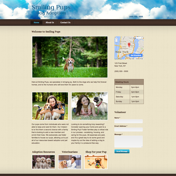 Sample Websites Free Website Templates Themes Webs